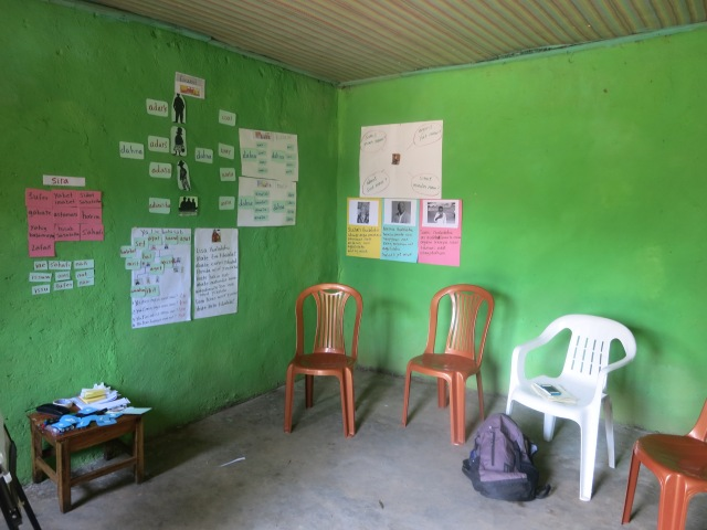 My classroom for language